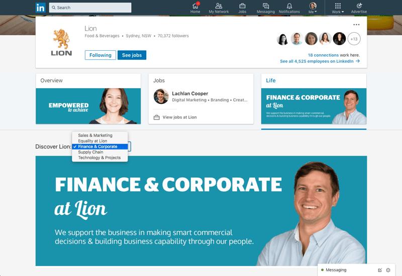 LinkedIn Life Page 1