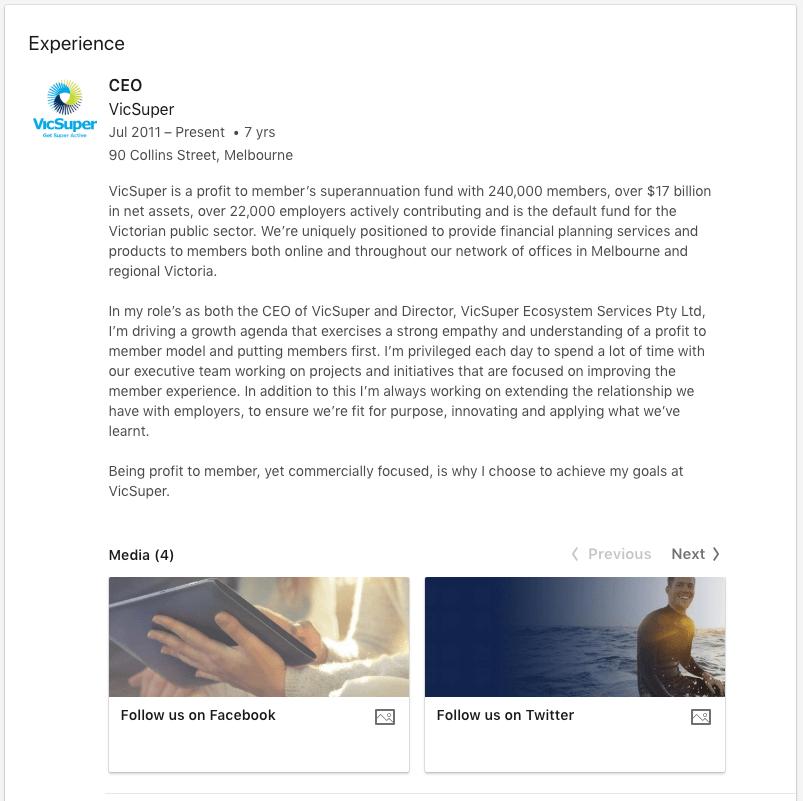 LinkedIn brand ambassador 2